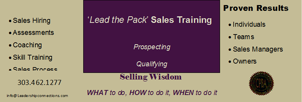 sales training,sales management, sales coaching denver